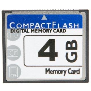 Xenia 4GB High-Capacity Neutral Digital Memory CF Card