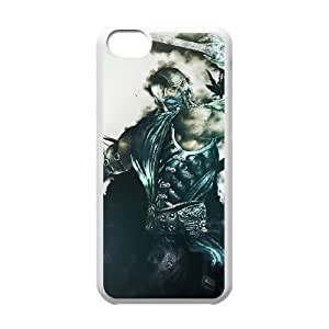 Mortal Kombat 10 HTC One M8 Cell Phone Case White Cell Phone Case Cover EEECBCAAK00829