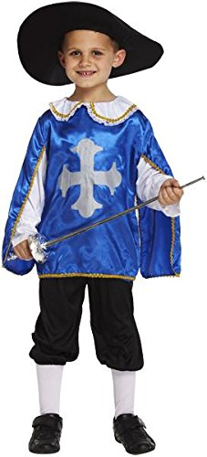 Fancy Dress Costume Musketeer Age -