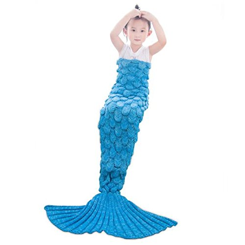 Ceci Air (AMOFINY Fashion Baby Toys New Child Mermaid Blankets Kick Cashmere Knit Blanket Quilt air Conditioning Blanket)