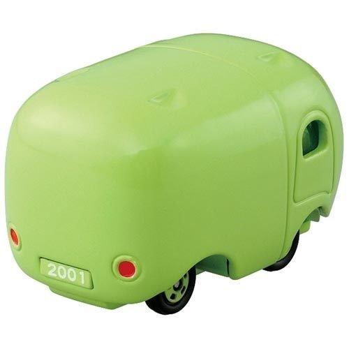 TAKARA TOMY TOMICA Disney Tsum Tsum DMT Normal Monsters University Mike Diecast Mini Car Figure Green -