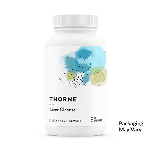 Thorne Research - Liver Cleanse - Support System for Detoxification and Liver Support - 60 Capsules
