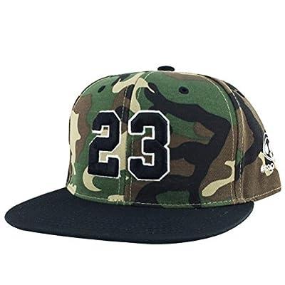 Number #23 Woodland Camo White Black Visor X Jordan Lebron Snapback Hat Cap