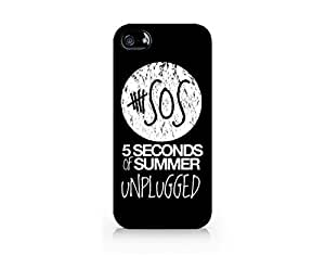 Music Design - Hard Plastic Case for Iphone 5/5s [Wireless Phone Accessory]