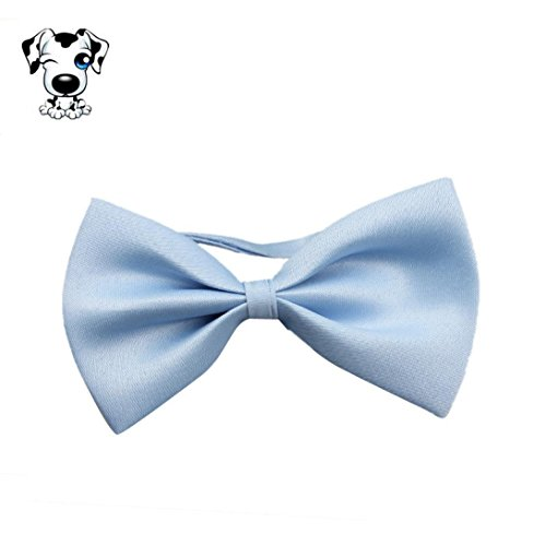 Puppy Accessory, OOEOO Fashion Doggie Bowknot Cute Dog Cat Kitten Pet Toy Kid Bow Tie Necktie