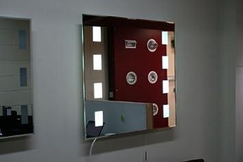 Illuminated Heated Bathroom Mirror