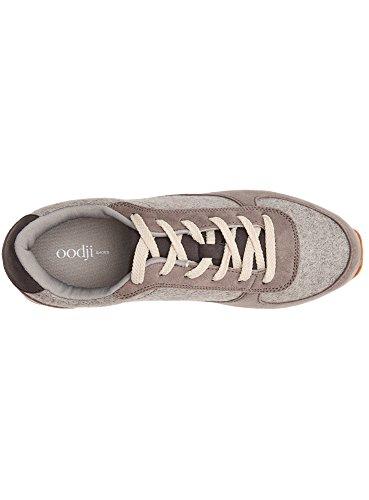 Mujer Gris Combinados 2325B Deportivos de Ultra Materiales oodji Zapatos RSxwB
