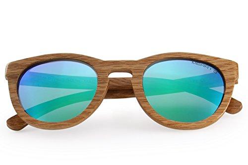 MERRY'S Polarized Wooden Coated Floating Sunglasses Mens/Womens vintage Eyewear S5268
