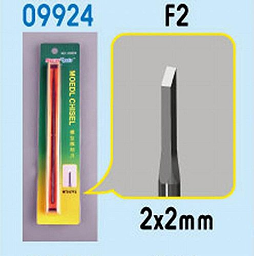 Trumpeter Model Micro Chisel: Square Tip, 2 x 2mm