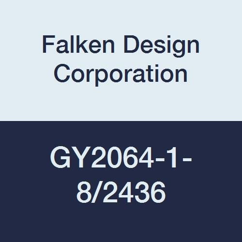 Falken Design GY2064-1-8/2436 Acrylic Gray Smoked Sheet, Transparent 29%, 24