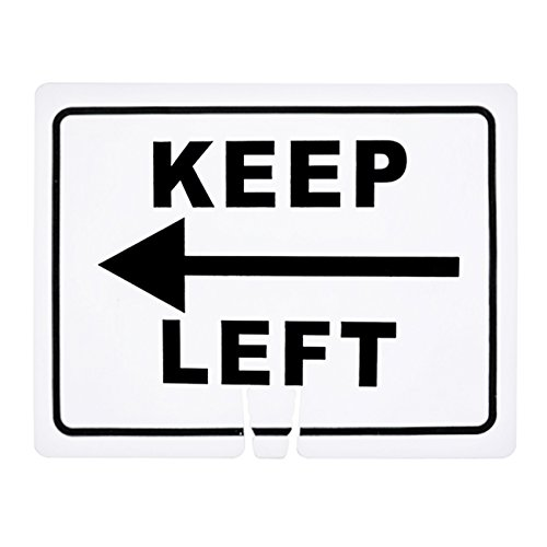 RK Safety Traffic Cone Sign 12 Legend