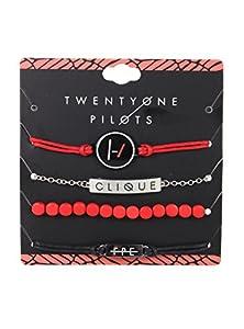 Twenty One Pilots Clique ID Bracelet Set