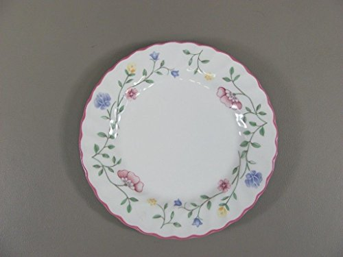 Reduced! Johnson Brothers SUMMER CHINTZ-FLORAL BKSTMP Bread & Butter Plate(s Ex