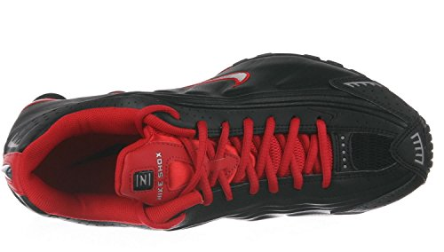 Nike Mens Shox R4 Running Shoes Black Red (9.5 D(M) US 8effd63dc