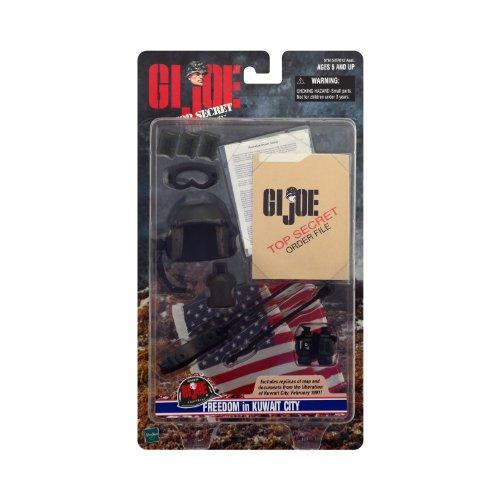 Helmet Gi Joe Weapon - G.I. Joe Freedom in Kuwait City Accessory Set for 12