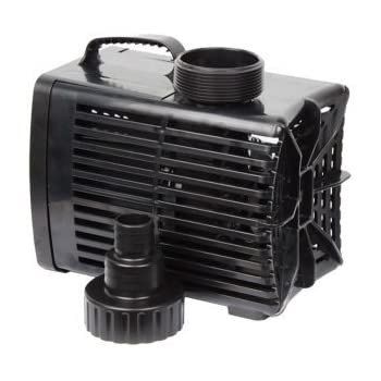 BECKETT 3550 GPH WATERFALL PUMP with Auto Shutoff, 15 Foot Cord and Green Vista Protective Pump Bag ($30 Value)