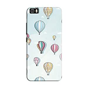 Cover It Up - Balloons Sky Mi5Hard Case