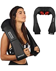 Deep Kneading Neck Massager with Heat - Electric Shiatsu Neck Back and Shoulder Massager for Home Car or Office Use