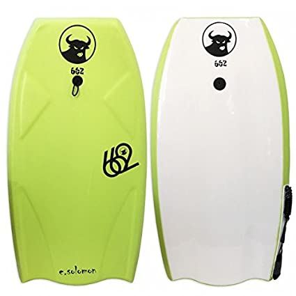 662 HD Eddie Solomon Graphic Bodyboard, Green, 42.5-Inch