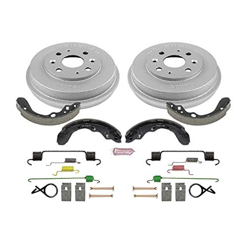 Power Stop Rear KOE15357DK Daily Driver Drum and Shoe Kits - Mazda Brake Shoe