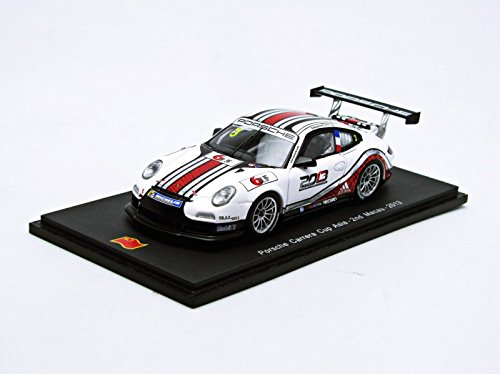 Spark – SA042 – Fahrzeug Miniatur – Modell Maßstab – Porsche 997 GT3 Cup – Carrera Cup Macau – 2013 – Maßstab 1/43
