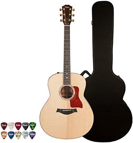 Taylor Guitars テイラーギター JB-518E-KIT-2 アコースティックギター with Deluxe Brown ハードケース and 10-Piece ピックパック アコースティックギター アコギ ギター (並行輸入)