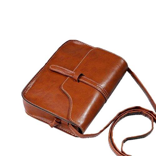 Athletic Mesh Messenger Bag - Women Shoulder Bag,Vintage Purse Bag Leather Cross Body Messenger Bag For Girls by-NEWONESUN