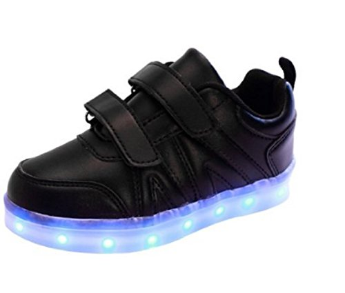 Koo-T - Zapatillas para niña negro/velcro