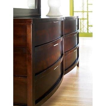 Superbe Sitcom Furniture STR601 / STRMIR601 Stratus Dresser And Mirror Set