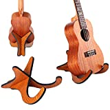 TinaWood Wooden Ukelele Stand Holder Musical