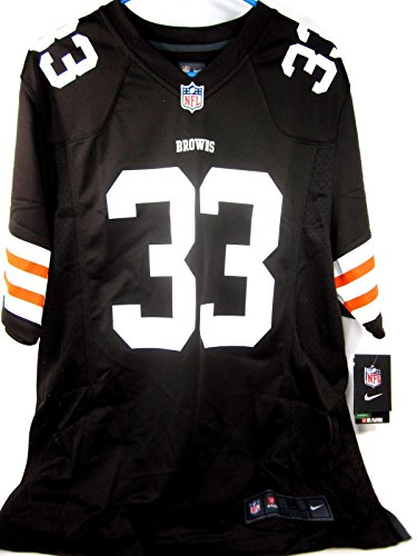 Trent Richardson 1 Draft Pick Jersey Home Brown Game
