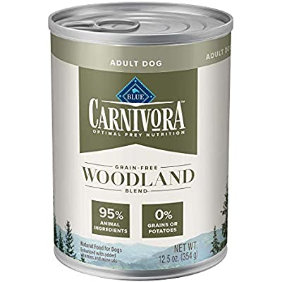Blue Buffalo Blue Carnivora Woodland Blend Optimal Prey Nutrition Grain Free Adult Wet Dog Food