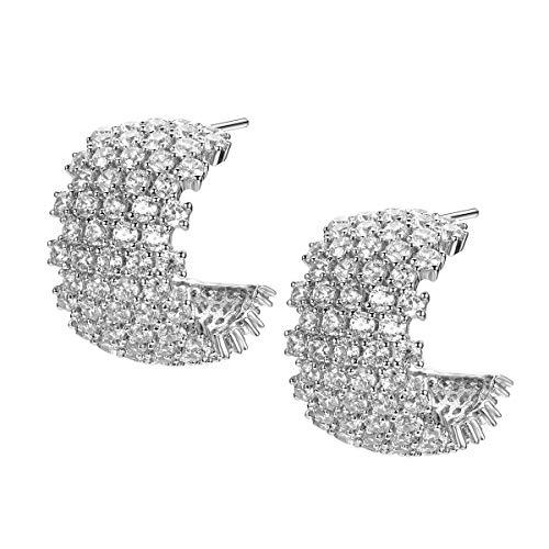 Delicin Jewelry Rhodium...