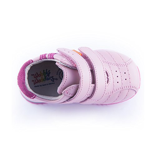 Pictures of Wobbly Waddlers Sneakers Natasha Toddler Girl First Walker Arch Support Shoes 4