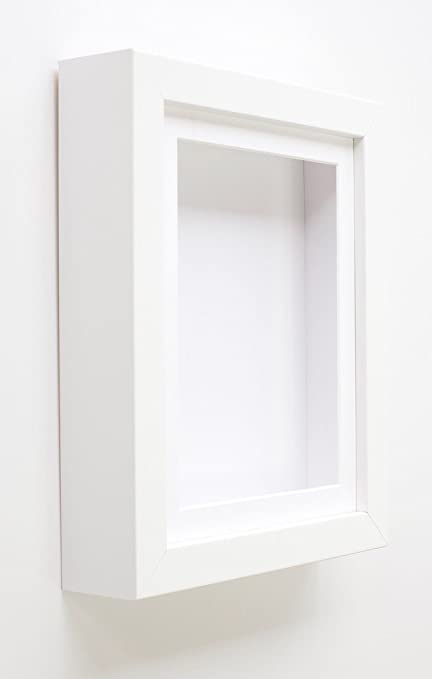 Tailored Frames White Shadow Box Frames 808 Deep Box Frrames For
