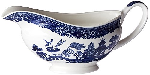 Johnson Brothers Willow Blue 12-Ounce Gravy Boat (Gravy Boat Only)