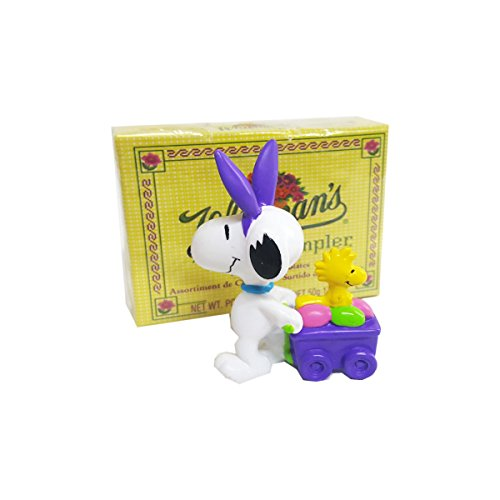 snoopy woodstock easter wagon figure