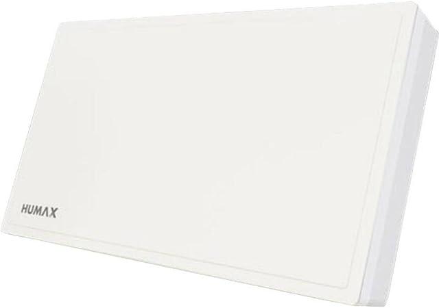HUMAX 50-Q Quad Flat Spiegel Schüssel SAT Flachantenne Digital 4 Teilnehmer weiß