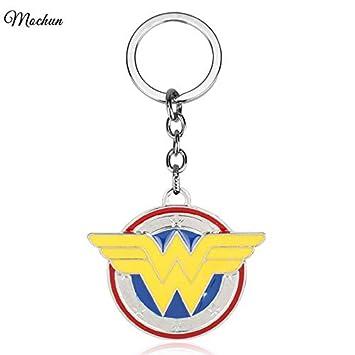 FITIONS - New DC Comics Wonder Woman Enamel Metal Keychain ...