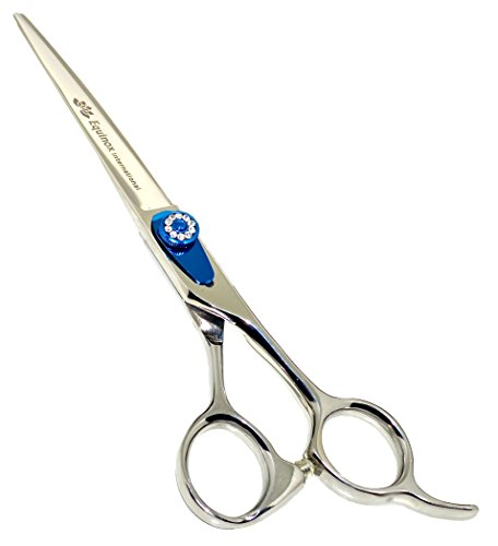 Diamond Series Edge (Equinox Professional Razor Edge Series - Barber Hair Cutting Scissors/Shears - 6.5