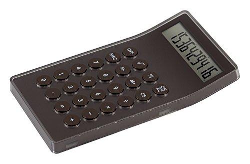 Lexon lc73mm Mastercal Desktop Calculator Brown by Lexon