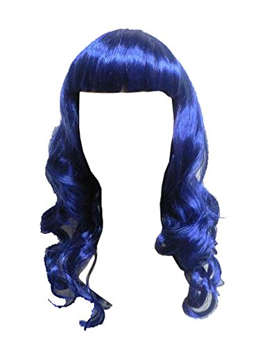 Purple Katy Perry Wig (Costumebase Katy Perry Costume California Girls Candyland Blue)