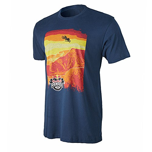 Red Bull Rampage Course Tee Navy Blue X-Large