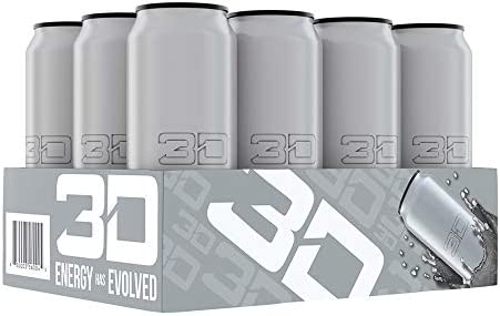 three-D Energy Drink - Chrome
