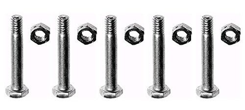 (5) SHEAR PINS BOLTS for Ariens 05907100 059071 Snowthrowers Snowblowers Sno-Tek by The ROP Shop ()