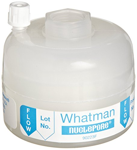 Whatman 2611T Polycap HD 36 Polypropylene Capsule Filter with FNPT Inlet and Outlet, 60 psi Maximum Pressure, 1.0 Micron (Pack of 5)