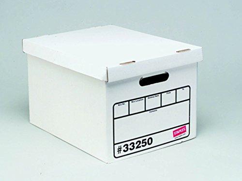 Staples Basic Duty Storage Boxes, Letter/Legal Size, 10/Pk