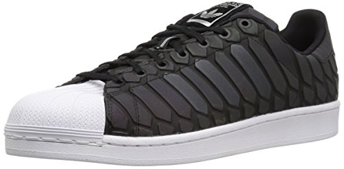 adidas Originals Men's Superstar Shoes Running, Cblack/Supcol/Ftwwht (10.5 M US)