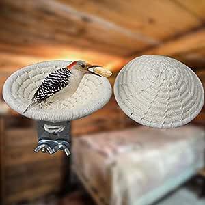 MOOUK - Nido de cría de pájaros, Hecho a Mano, para pájaros, Caza ...