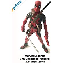 """Review: Marvel Legends 1/6 Deadpool (Hasbro) 12"""" Inch Icons"""